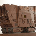 Motorized Star Wars LEGO Sandcrawler