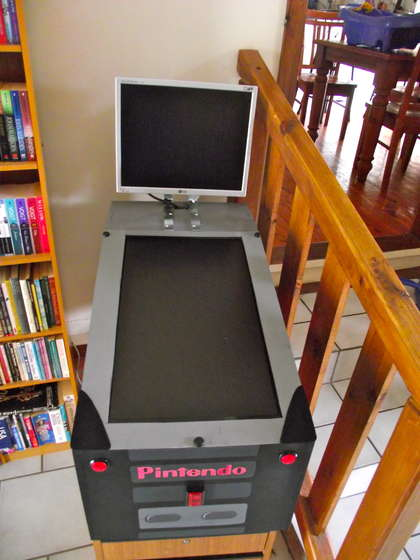 Pinball Machine LCD Arcade Cabinet