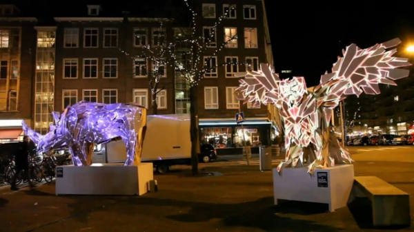 Projection Mapped Sculptures