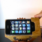 Kinetic iPhone Dock by Murtaza