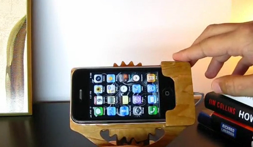 Kinetic iPhone Dock by Murtaza