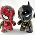 Spider-Man and Batman Munny