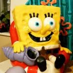 Spongebob Cake Front View