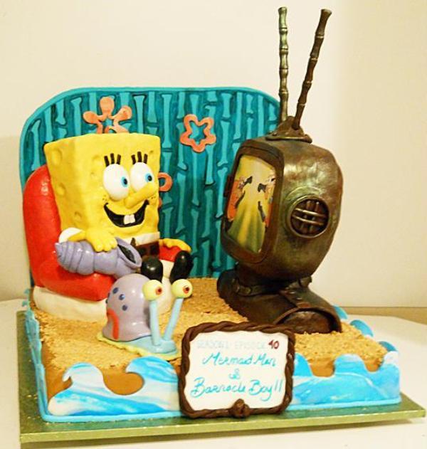 Spongebob Cake TV
