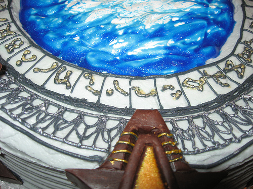 Star Gate Cake