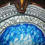 Star Gate Cake Top