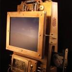 Steampunk Laptop CD Tray
