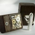 Steampunk USB Cufflinks 1