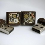 Steampunk USB Cufflinks 2
