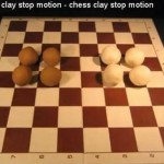 Stop-Motion Chess Game 1