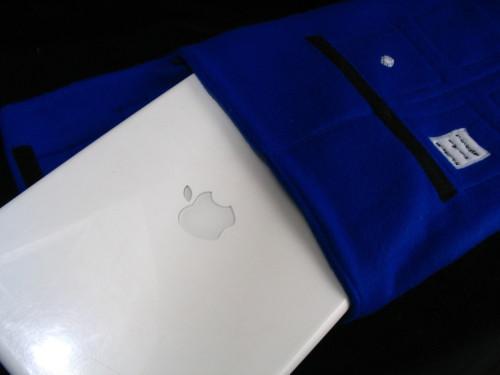 Tardis-themed MacBook Case