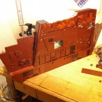 Working LEGO Sandcrawler