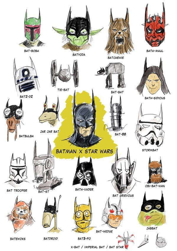 batman x star wars