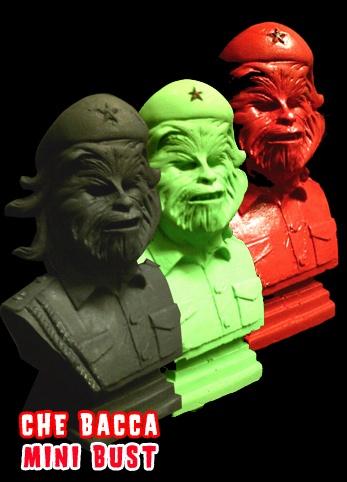 che guevara chewbacca star wars bust