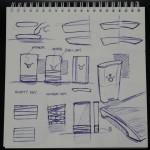 elastic phone sketch