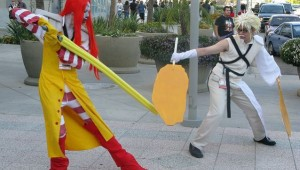 fast food final fantasy cosplay