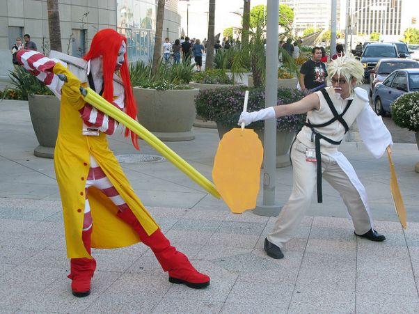 fast food final fantasy cosplay