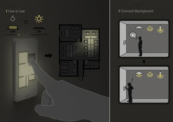 Taewon Hwang's Floor Plan Light Switch