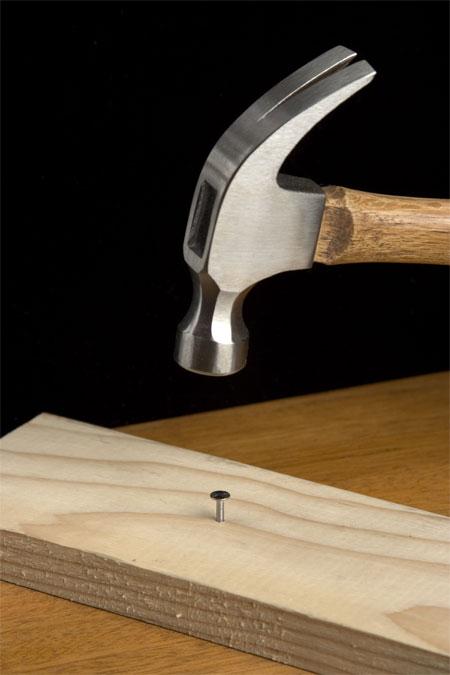 Hammer close-up