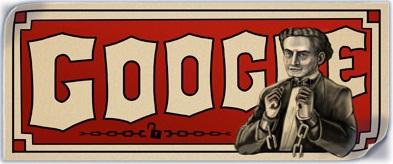 harry houdini magician birthday google doodle