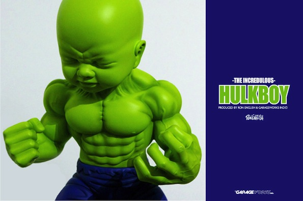 Hulkboy Statue