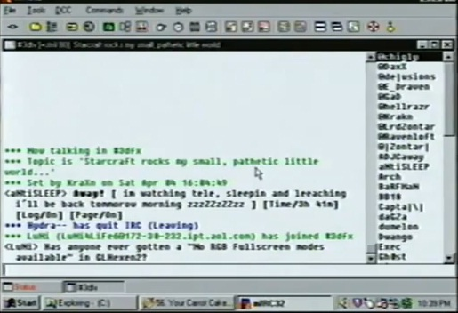 internet in april 1998