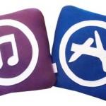 iTunes pillow