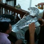 Star Destroyer Ice Luge in Action