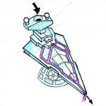 Sketch of Star Destroyer Luge
