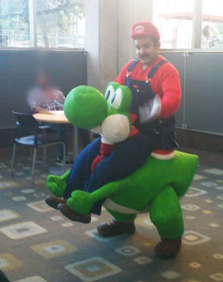 Horsing Around With A Life Sized Yoshi Walyou