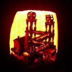 mc escher waterfall illusion pumpkin
