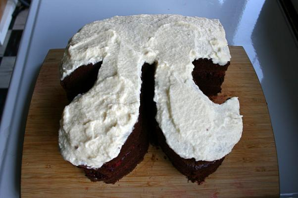 pi chocolate cake pi day