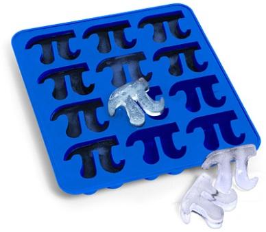 pi ice cubes pi day
