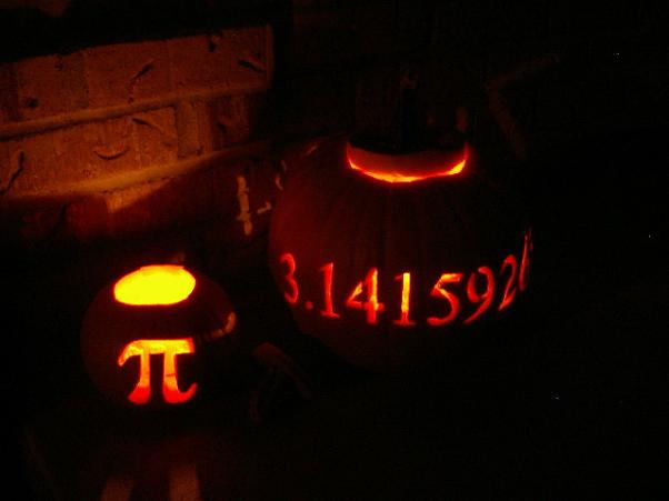 pi pumpkin carvings pi day 3