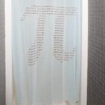 pi shower curtain pi day