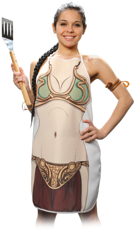 Curious.. star wars princess leia slave cosplay absurd