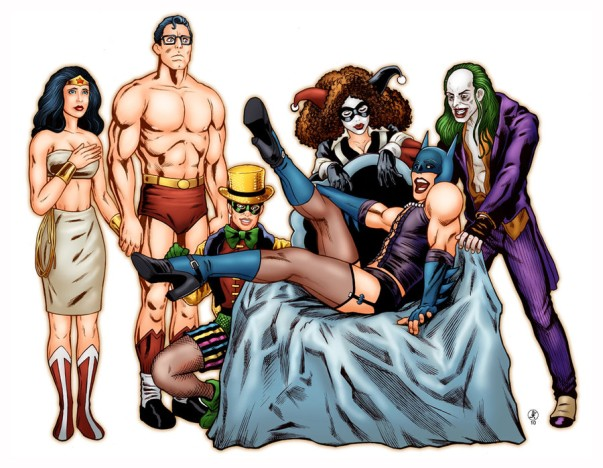 rocky horror picture show comics dc mashup