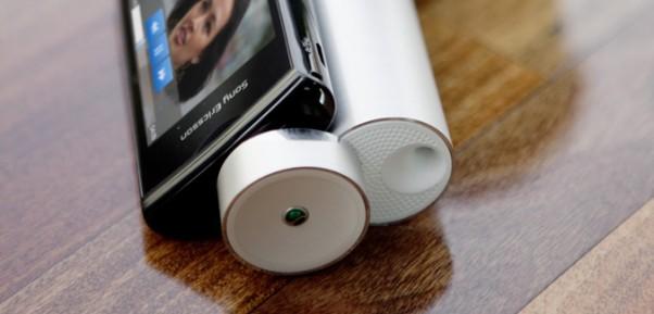 sony ericsson ms430 media speaker stand image