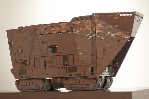 star wars lego sandcrawler design