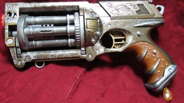 steampunk gun mod primitus nerf