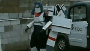 transformers truck costume in real life