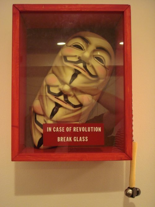 v for vendetta mask for revolution