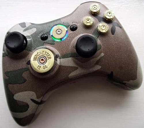 Xbox 360 controller mod with bullets walyou 360 controller with bullet mods solutioingenieria Image collections