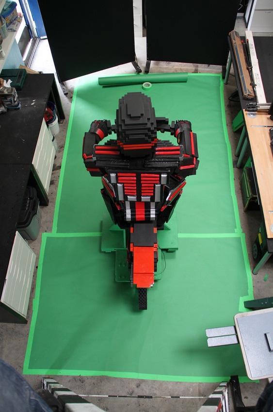 8-bit motorbike design