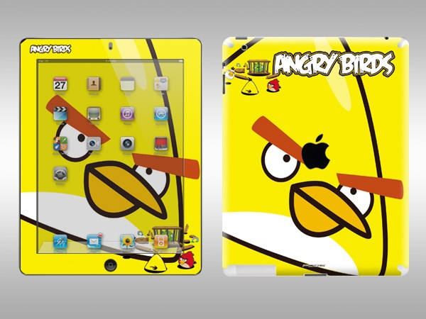 Angry Birds iPad 2 Decal 2
