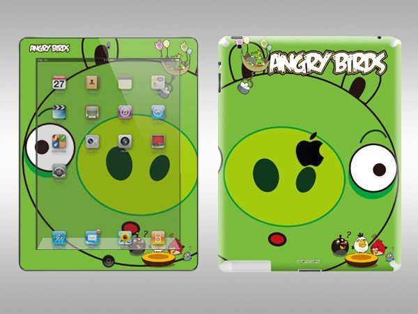 Angry Birds iPad 2 Decal 3