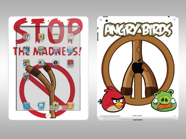 Angry Birds iPad 2 Decal 4