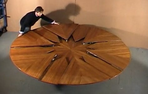 DB Fletcher Design Transforming Table