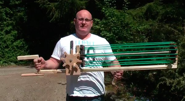 Gatling Crossbow Slingshot