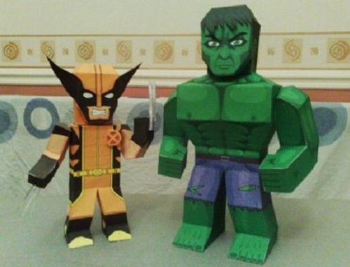 Geeky_Origami_Papercraft_1